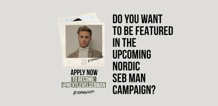 Bild för Looking for modell to Nordic hair care / styling / grooming campaign for Seb Man